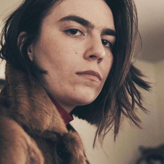 My hero(ine) Grace Dunham in @heromag @simondunham  nice haircut by @hollismithhead
