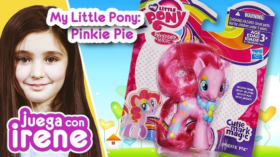 My Little Pony: Pinkie Pie ♥ Juega con IRENE ◕‿◕