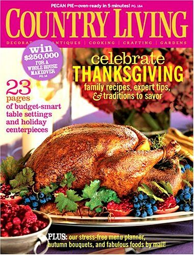 Country Living Magazine Sale: as low as $5.66 per year! {grab it for yourself, or give it as a thrifty gift!}