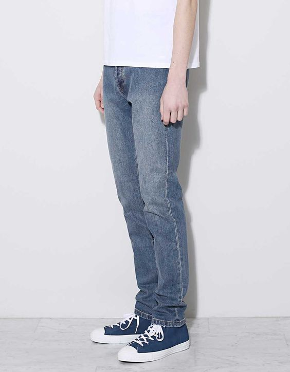 A.P.C. Petit New Standard Washed Blue - Nitty Gritty Store