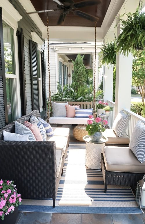 Small Front Porch Decorating: 12 Unique Ideas for Summer  Front