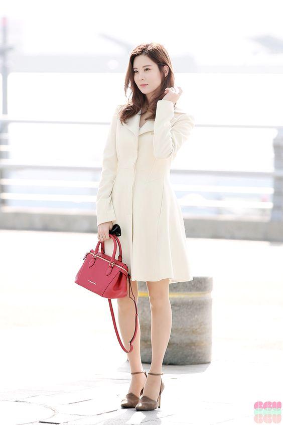 SNSD Seohyun Airport Fashion 151027 2015 | SNSD Airport ...