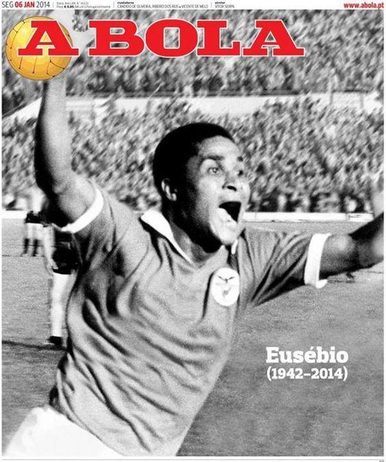 A BOLA: «EUSÉBIO (1942-2014)»