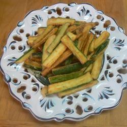 Bastoncini di zucchine fritte @ allrecipes.it