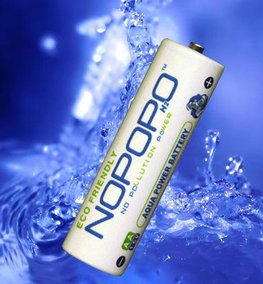NoPoPo the Battery that runs on Water!!  Spoke with CEO, due to Tsunami, won't be available until May 2013