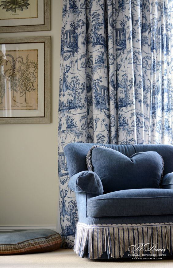 Toile country sofas and doggie beds on pinterest