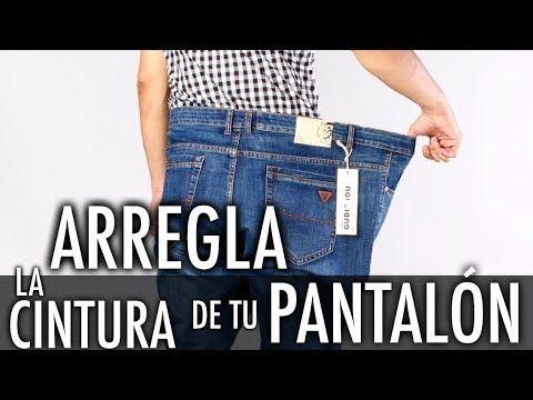 Como Bajar La Talla De Tu Pantalón Arregla La Cintura De Tu Pantalón Como Coser Un Pantalón Youtube Como Coser Un Pantalon Ropa Confección De Ropa