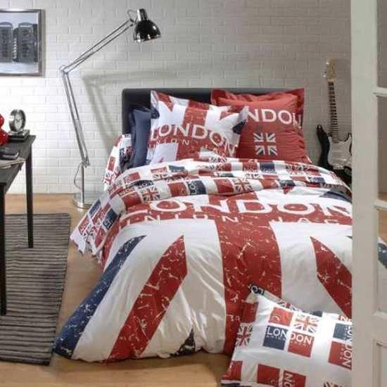 Parure Housse De Couette London Avec Images Housse De Couette London Housse De Couette Deco Chambre