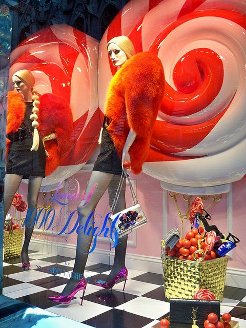 Saks Christmas Window Display 2020 1000 Delights: red Saint Laurent (day) in 2020 | Tropical colors