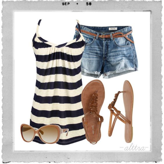 Beach Bum Created By Alttra On Polyvore | My Style | Pinterest | Summer Beaches And Shirts
