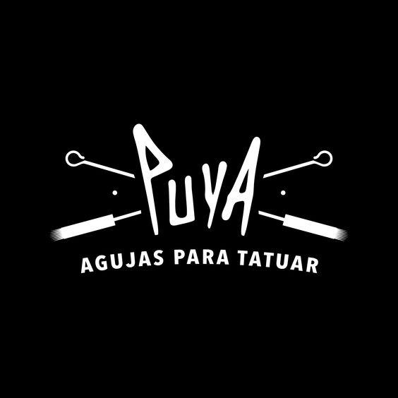 #Logotipo para PUYA - Agujas Para Tatuar #Marca #Puya #Agujas #Grafico #Brand #Logo #Diseño