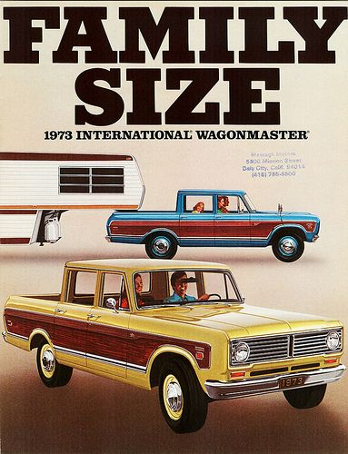 1973 International Wagonmaster International Travelall International Truck Trucks