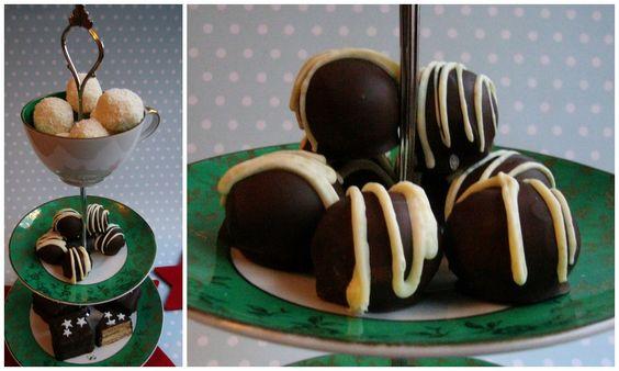 Miss Blueberrymuffin's kitchen: Marzipan-Macadamia-Pralinen