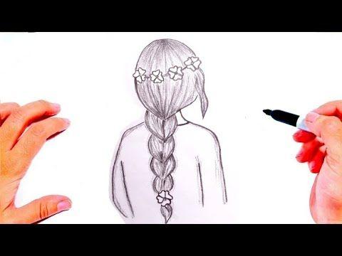 رسم بنات سهله جدا رسم سهل وكيوت رسم فتاة جميلة How To Draw A Girl Youtube Peace Gesture Peace