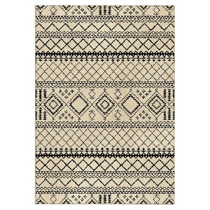 Threshold™ Aztec Fleece Area Rug - JC I absolutely think you should get this!! Could be great either in the living room or bedroom.