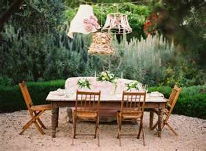 Shabby Chic Garden Lighting