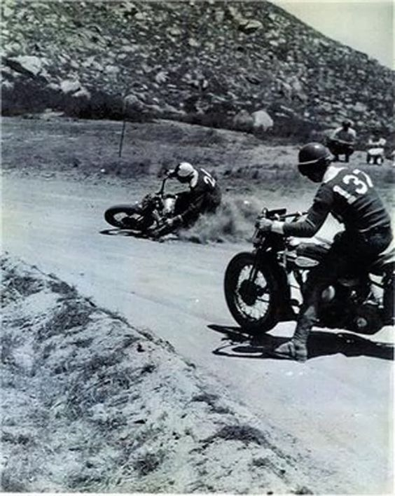 Riding Vintage: Red Fleming Racing at the Box Spring Track in 1946