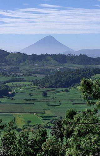 volcan de agua, Guatemala: