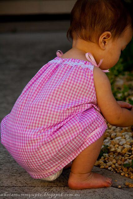 Che la mamma fino a ...: La mia versione di una federa (Kinda!) Camicia da notte ... Di Hannah corrispondenza (ma non) di PJ