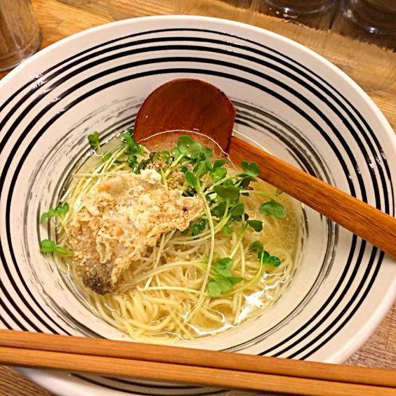 #tokushima #japon - 23件のもぐもぐ - 鯛の塩らーめん by maixx ใหม่