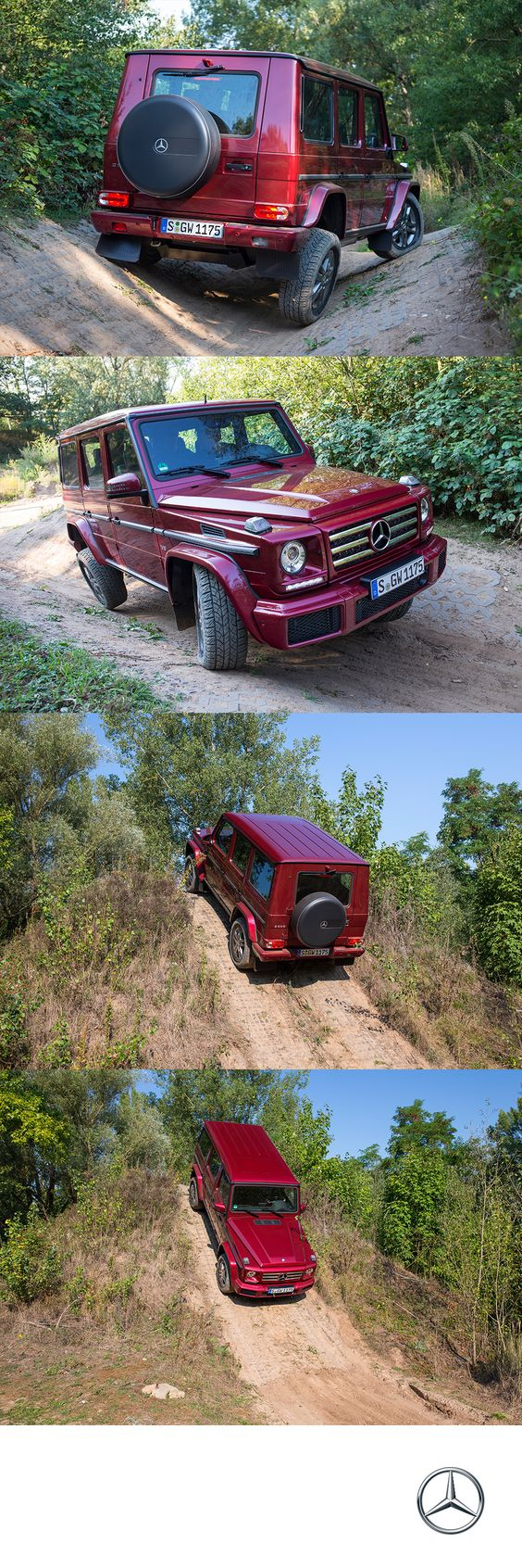 Tackling any terrain with the same ease as overtaking the outside lane, the G550 matches ruggedness with refinement like no other SUV in its segment.