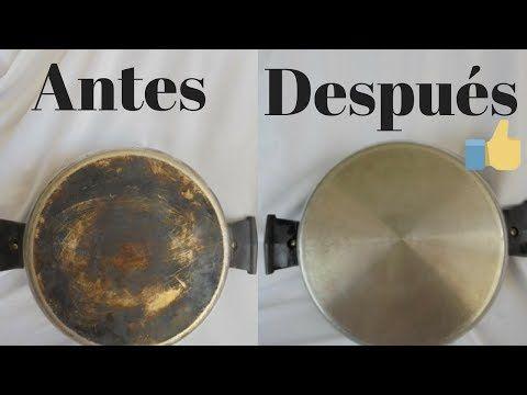 Youtube Limpieza De Ollas Quemadas Limpieza De Sartenes Ollas Quemadas