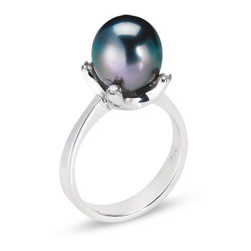 VannaK Black Pearl and Diamonds