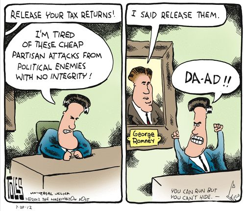 How much of the Deficit republicans point to has Romney's team created?