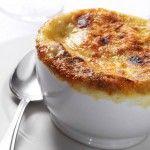 Soupe l'oignon at a tried-and-true favorite, Au Pied de Cochon.