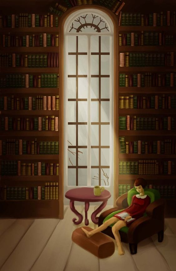 4. Favorite place (30 days drawing challenge) by ~yeux-errants on deviantART