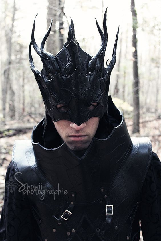 https://www.etsy.com/shop/FeralCrafter  Dark Mage Mask by FeralCrafter on Etsy, $250.00: