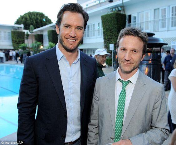 Photo of Mark-Paul Gosselaar & his friend actor  Breckin Meye -