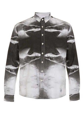 A Question Of 'Shark Mirror' Shirt