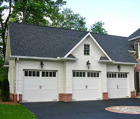Plan 29859rl colonial style garage apartment pinterest for Brick garage designs