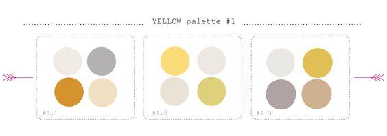 #color #yellow palette