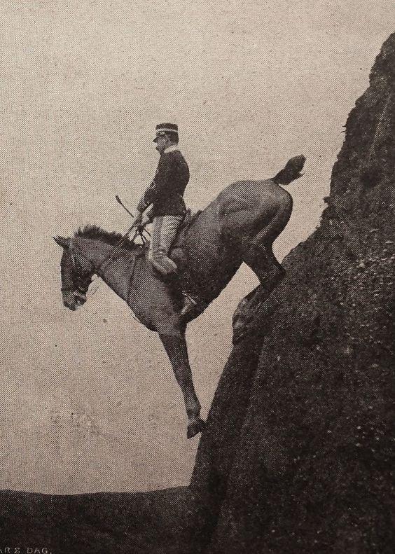 [Mystère #98] La descente Caprilli, à l'école de cavalerie de Tor di Quinto en 1906
