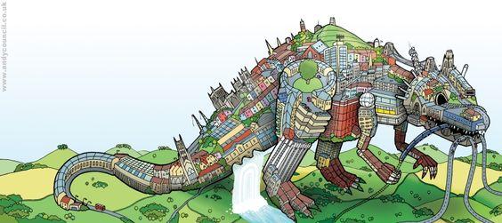 Andy Council - Bristol Dinosaur
