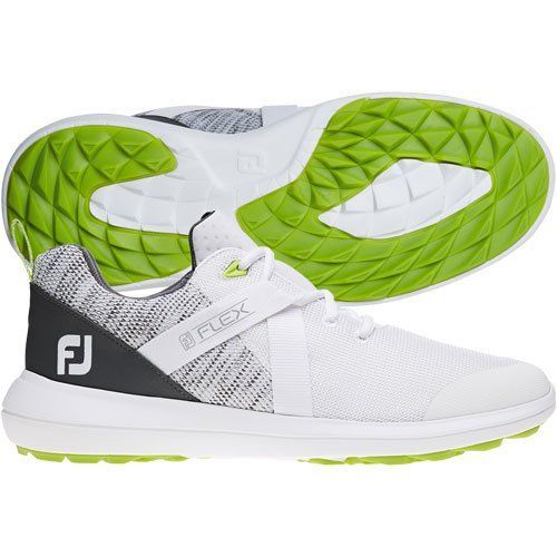 Incredbly Footjoy Mens Flex Golf Shoes White All About Golf Golf Shoes Mens Golf Humor Golf Watch