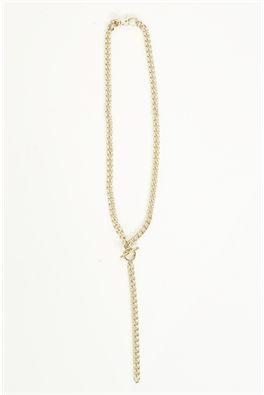 Moochi fob chain necklace.