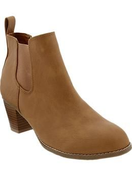 Women's Short Ankle Boots   Old Navy
