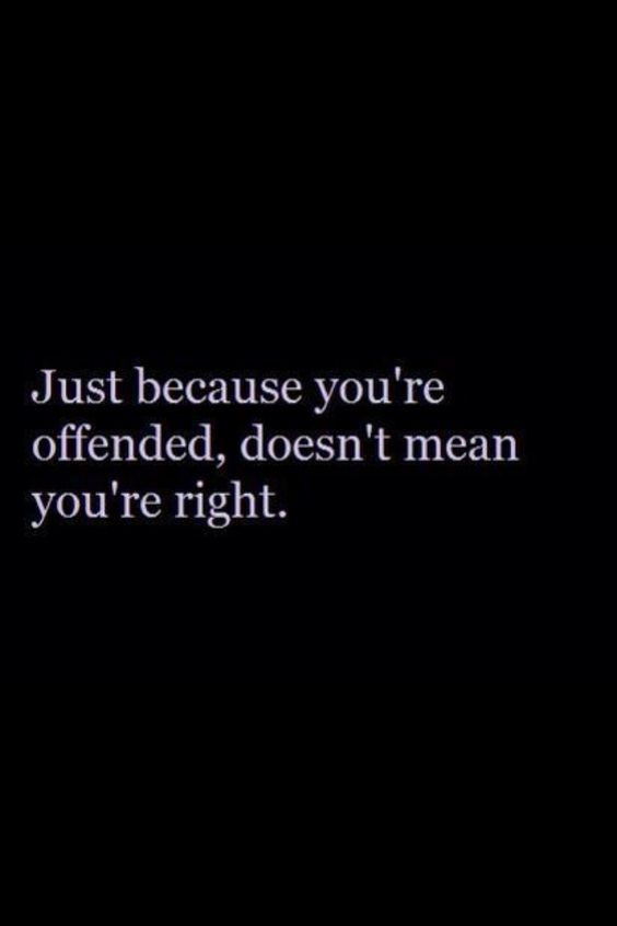 To those on BOTH the Left and Right who disagree w/ my stance on the issues