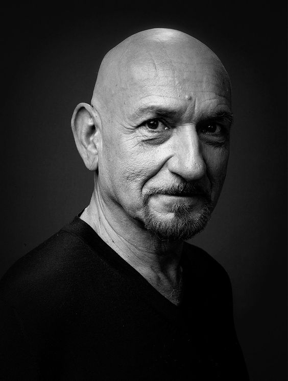 Sir Ben Kingsley ~ was born 12-31-1943 and named Krishna Pandit Bhanji.  He is an English actor who has won an Oscar,  Grammy, BAFTA, two Golden Globes  Screen Actors Guild Awards in his career. He was knighted by Queen Elizabeth II in 2002.  He is a well spoken man!