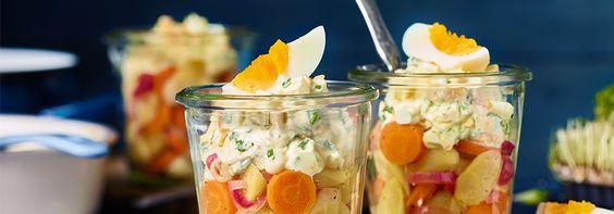 Rezept Karamellisierter Schwarzwurzelsalat mit THOMY Salat Mayonnaise