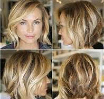 Haircuts For Fine Wavy Hair And Round Faces Rambut Pendek Rambut Dan Kecantikan Potongan Rambut
