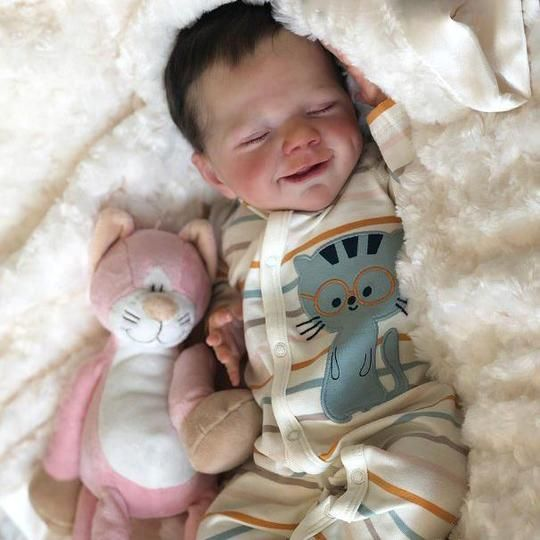 "KAYDORA 14/"" Custom Rainbow Dress Girl Baby Toy Vinyl Silicone Reborn Doll Toys"