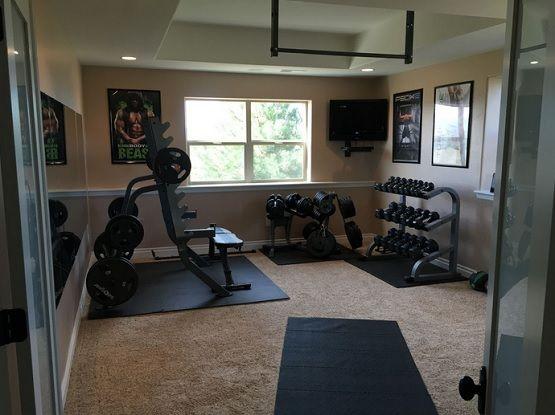designing a home gym. Best home gym flooring over carpet design  Hubby s Gym Room Ideas Pinterest Carpet and room