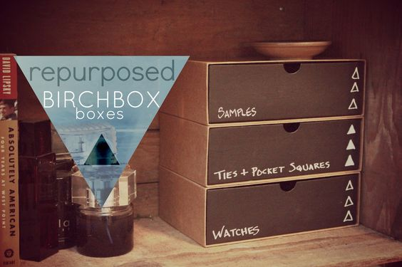eat.sleep.MAKE.: CRAFT: Repurposed Birchbox Boxes