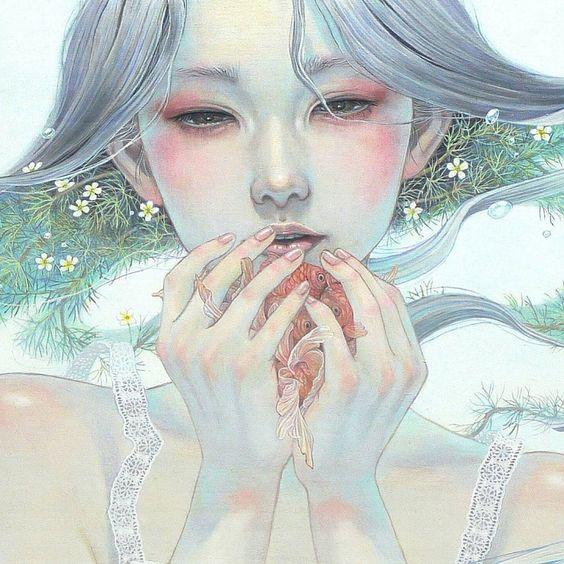El pintor Miho Hirano nos ofrece su particular visión de las mujeres que parecen salidas de un sueño, así nos ofrece a la mujer etérea y fragmentos del mundo natural que nos hablan de anhelo y melancolía que atrae al espectador en llamativos fantasía tierras de sus personajes. Sus obras representan a las mujeres como seres salidos […]