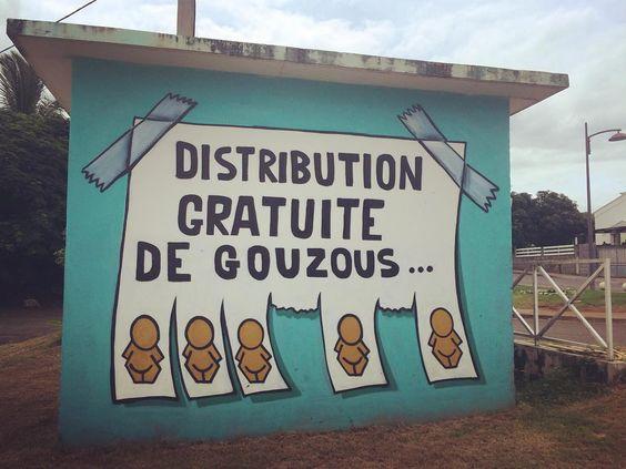 Gouzous de @jaceticot - Plateau Maison Rouge - Saint-Louis - #gouzous #jace #saintlouis by lidonia_
