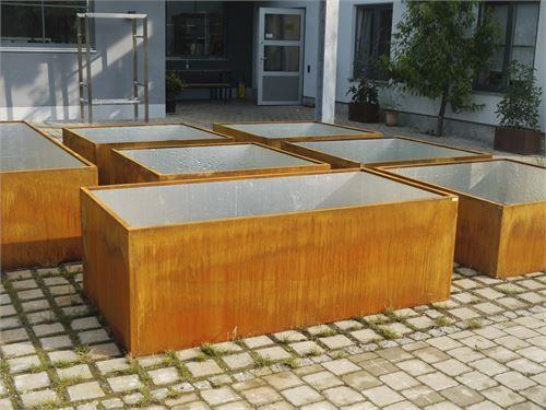 Fertige Hochbeet Und Hochbeet Bausatze Aus Metall Hochbeet Vorgarten Modern Hochbeet Bausatz